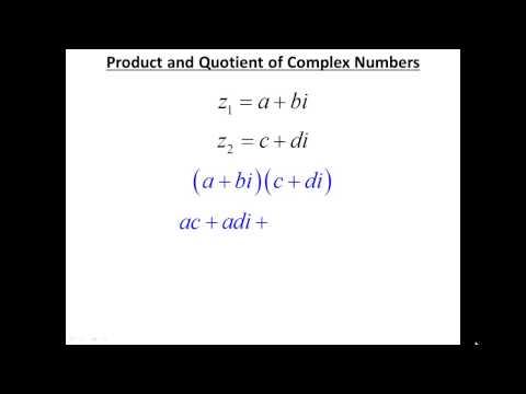 Lesson 6.6 - De Moivre's Theorem