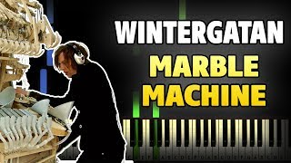 Wintergatan - Marble Machine Piano Tutorial (Sheet Music + midi)