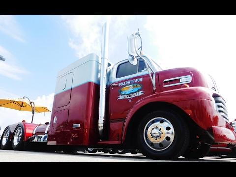 """1948 Ford COE Street Truck """"Follow The Sun Express""""  2016 NSRA Street Rod Nationals"""