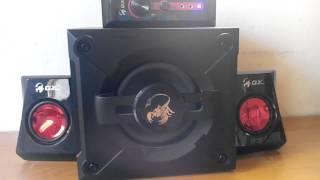 Genius SW-G2.1 1250 Bass Test