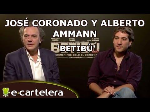 'Betibú': Entrevista a José Coronado y Alberto Ammann