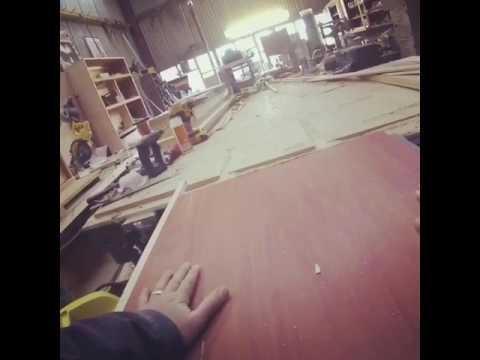 Cross Cut Sled For Dewalt Job Site Table Saw Youtube
