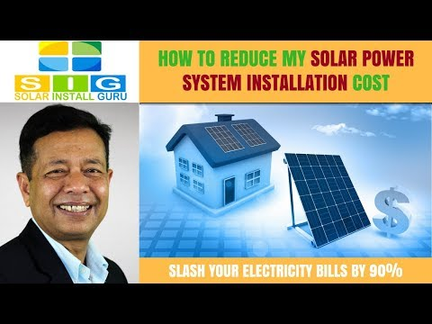 How To Reduce The Solar Panel Installation Cost