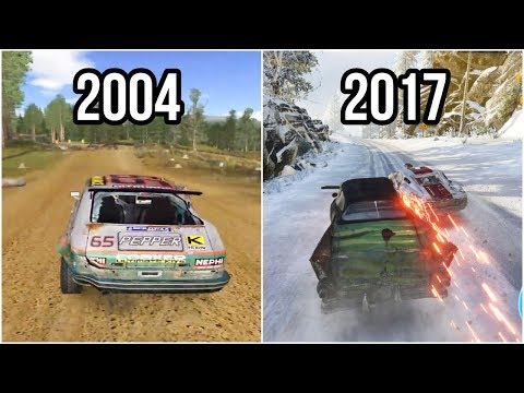Evolution Of Flatout Games 2004-2017