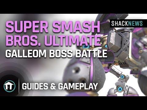 Super Smash Bros Ultimate Gameplay – Galleom Boss Battle thumbnail