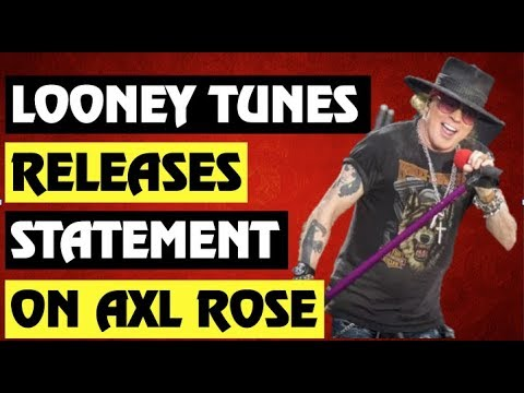 Guns N' Roses New:  Looney Tunes Confirms Axl Rose Appearance