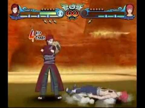 Naruto Shippuden: Clash Of Ninja Revolution 3 - Gaara vs True Form ...