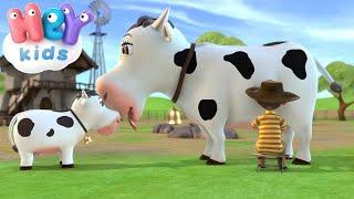 Корова Зорька - Детские песни - Развивающие мультфильмы для детей