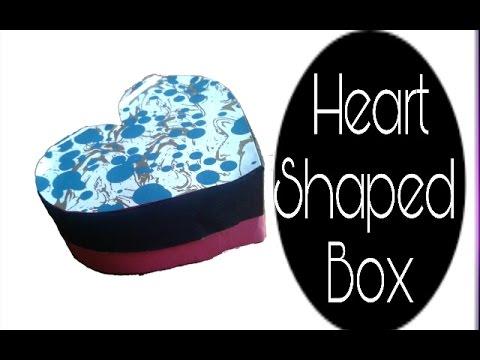 How To Make A Heart Shaped Box Diy Gift Box Tutorial Storage Box