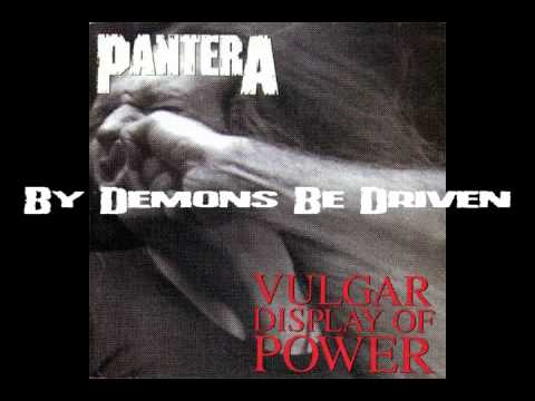 Pantera full discography (albums from 1990 to 2000)