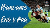 Extended Highlights: England 39-10 Argentina - Rugby World Cup 2019