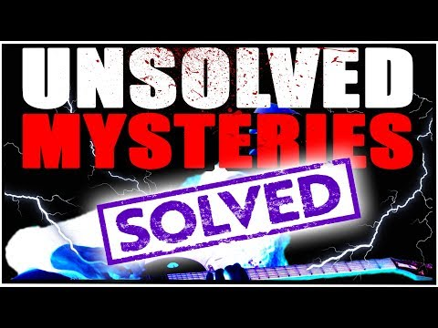 Buckethead Unsolved Mysteries (SOLVED)