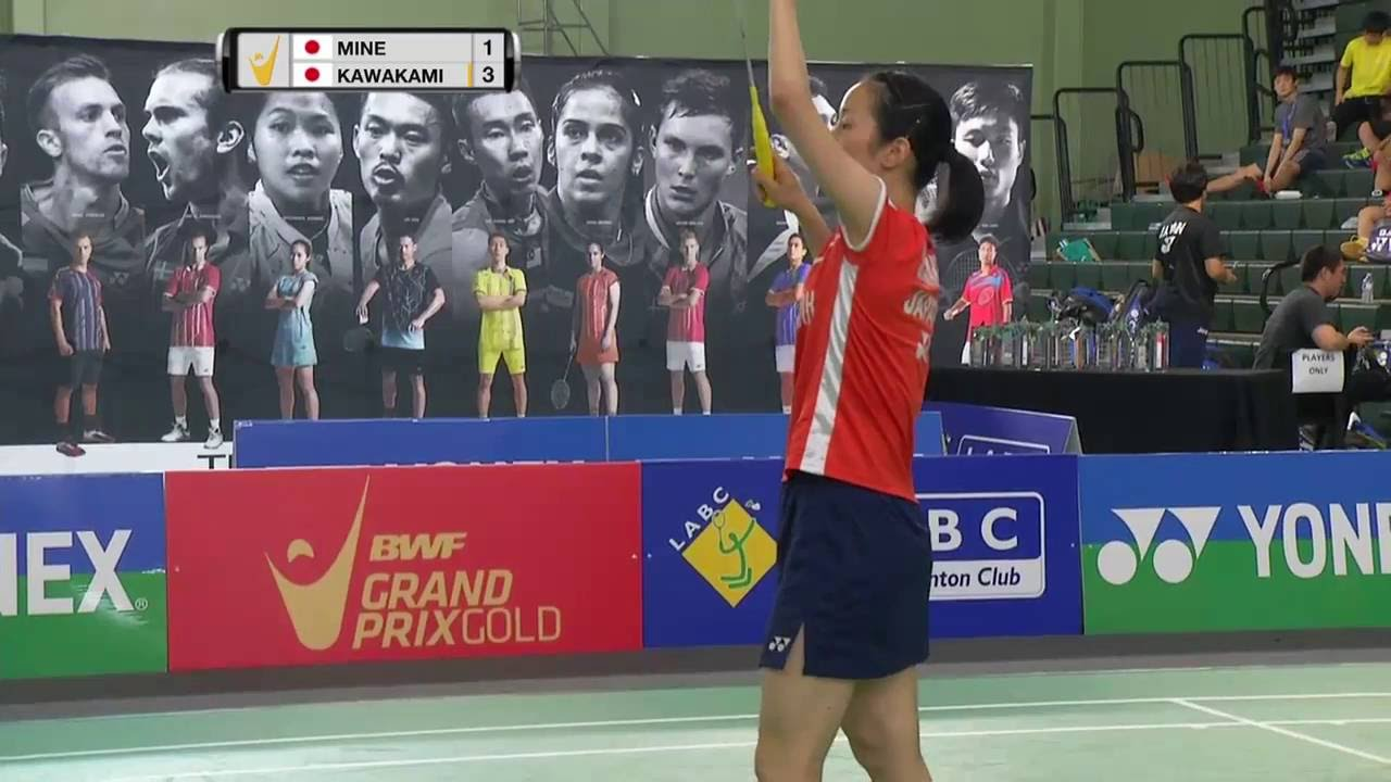 Yonex US Open 2016 Badminton F M2 WS