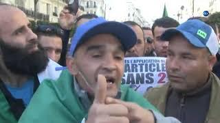 لقد أخذوا منا البلاد ستحيا الجزائر وتسقط العصابة ارحلوا.. هتافات الجمعة السادسة