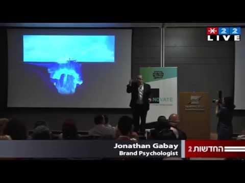 Gabay at Tel Aviv Stock Exchange Brand Faith Keynote highlight