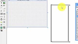 VB Tutor how to add the backround image to from