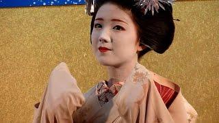 人気の舞妓 勝奈さん! 京都上七軒