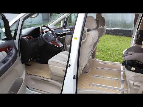 Toyota Alphard 3л 4х4: переделка после длительной эксплуатации