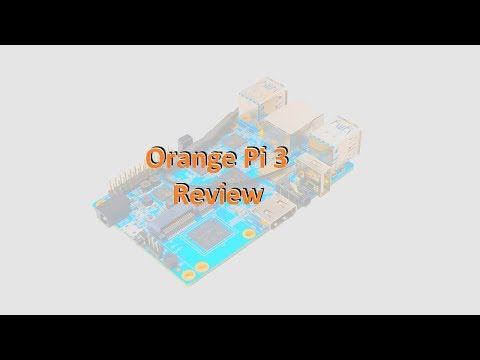 Review Orange Pi 3 in Linux - YouTube