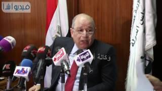 بالفيديو : مؤتمر صحفي لرئيس قسم التشريع بمجلس الدولة