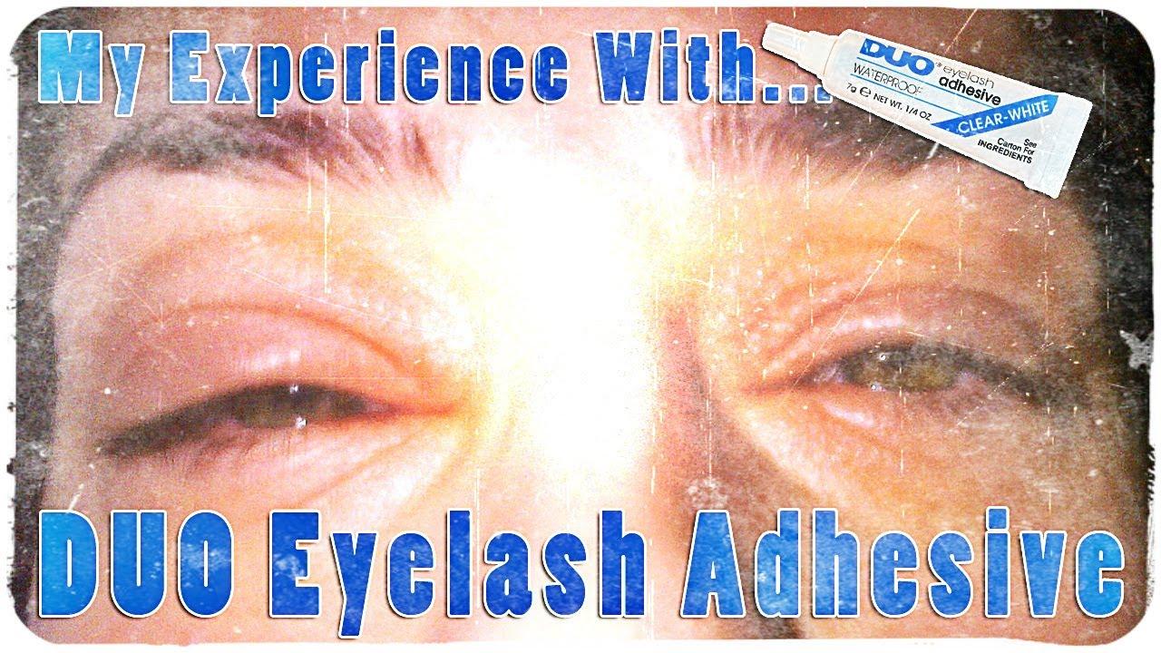 Allergic Reaction Duo Lash Glue Isneezestars 04152013 Youtube
