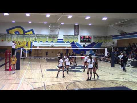 PHHS Girl's Varsity Volleyball Scrimmage @ Bonita, Set 3