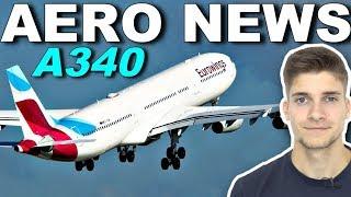 EUROWINGS gibt A340 wieder ab! AeroNews
