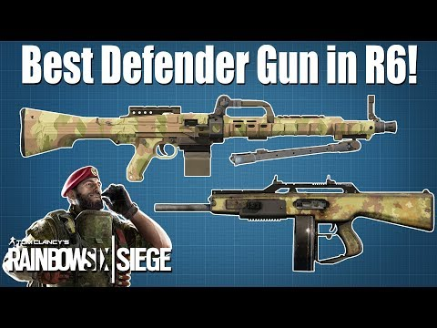 Best Defender Gun in the Game - Rainbow Six Siege