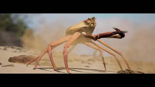 Just a fan made Crab Rave (by Noisestorm) | Snow Crab Rave Music Video | Dancing Crab