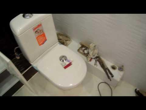 ПОПАСТЬ при РЕМОНТЕ ВАННОЙ и ТУАЛЕТА, ремонт ВАННЫ видео,  ИСПОРЧЕННАЯ положена плитка в ванной