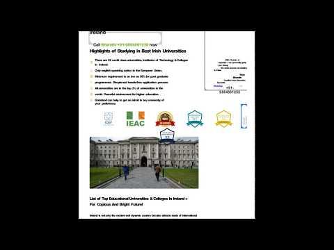 list-of-universities-in-ireland