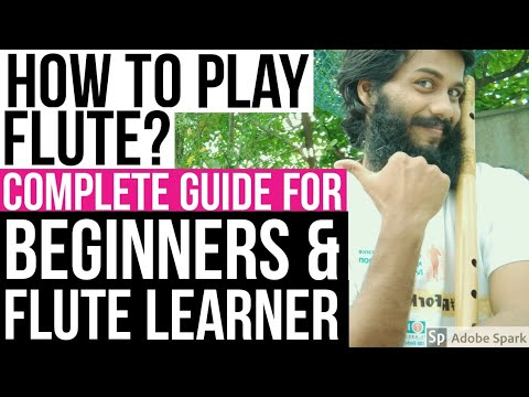how to play flute bansuri complete guide for beginners easy flute rh youtube com Native American Beginning Flute