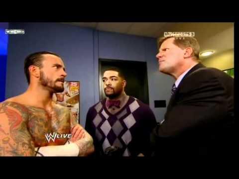 CM Punk calls John Laurinaitis bitch