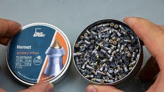 Пули пневматические H&N Hornet 4.5 мм (225 шт) видео обзор