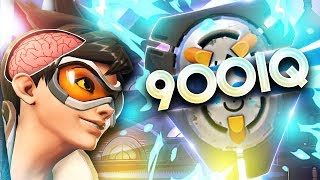 900 IQ TELEPORT PREDICTION - Overwatch Best Wins & Fails (WTF Moments)