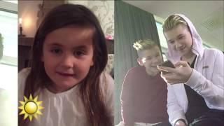 Marcus & Martinus svarar på barnens frågor - Nyhetsmorgon (TV4)
