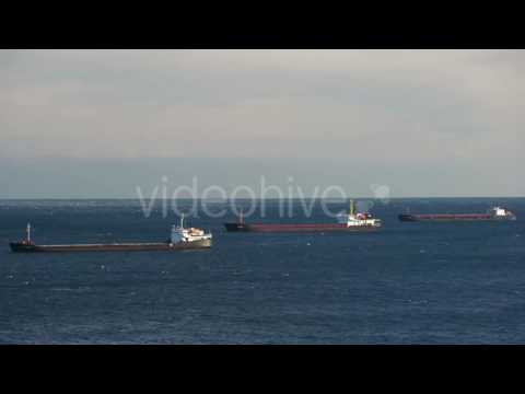 Ships Bulk Carriers Sailing - Stock Footage | VideoHive 14908652