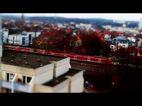 KAISERSLAUTERN - Little City in Motion - Tilt Shift Timelapse / Canon 600D / XXXIII