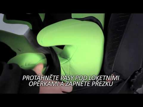 Автокресло CARETERO Vivo Монтаж автокресла в автомобиле, обучающее видео, инструкция