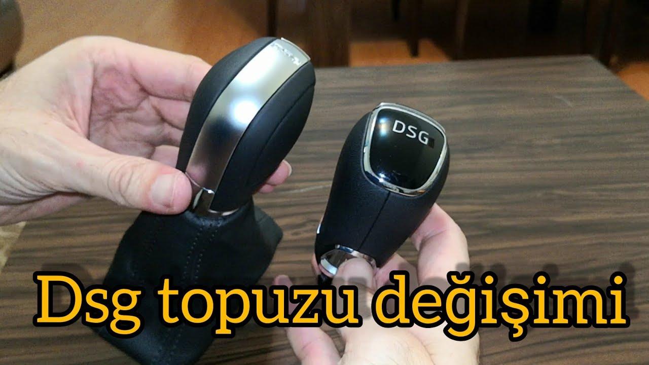 Dsg vites topuzu değişimi en kapsamlı anlatım Skoda superb vites topuzunu VW topuz ile değiştim