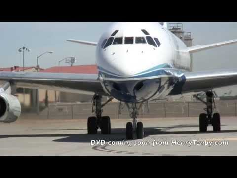 Last arrival and departure of ATI DC-8-62 N799AL at Travis AFB May 12 2013