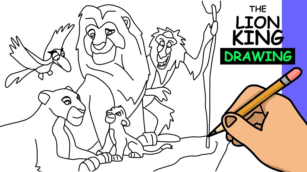 lion king coloring page # 55