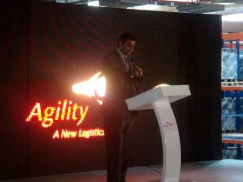 Agility Riyadh Official Opening ( Speech of Mr. Tariq Sultan, Elias Monem & John Gould )