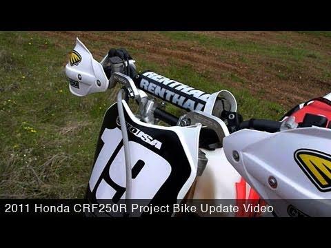 MotoUSA Project Bike: 2011 Honda CRF250R Update