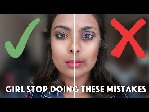 11 MAKEUP MISTAKES YOU ARE MAKING RIGHT NOW ! thumbnail
