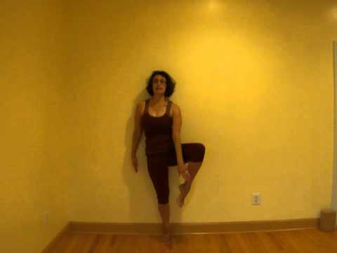Practicing Tree Pose Vrksasana including options