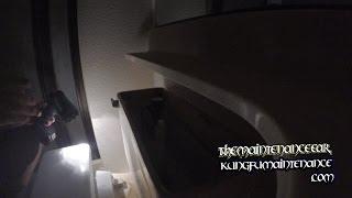How To Fix Running Toilet When New Flapper Still Lets Water Leak Through #Flashlight Video Series