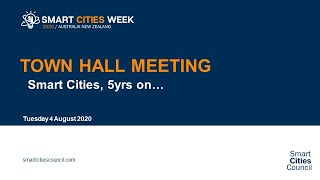 Smart Cities Week Town Hall Meeting  | Smart Cities, 5 Years On