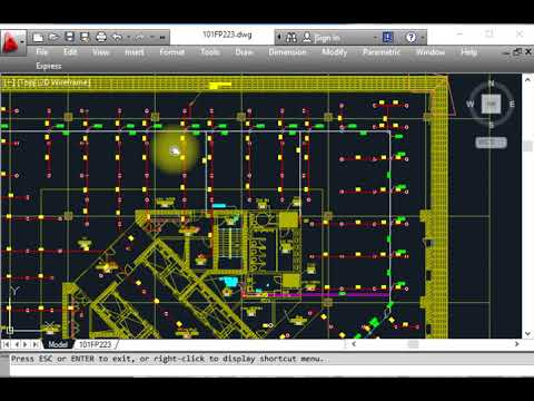Fire Fighting Designing Or Distribution Of Fire Sprinkler System With Auto Cad Layout Youtube