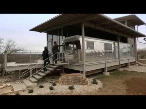 george clarkes amazing spaces locomotive ranch trailer home